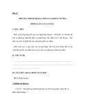 Bài 42 PHƯƠNG TRÌNH TRẠNG THÁI CỦA KHÍ LÍ TƯỞNG ĐỊNH LUẬT GAY LUSSAC