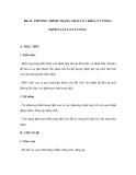 Bài 47. PHƯƠNG TRÌNH TRẠNG THÁI CỦA KHÍ LÝ TƯỞNG. ĐỊNH LUẬT GAY LUSSAC