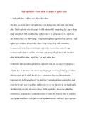Ngữ nghĩa học – khái niệm và phạm vi nghiên cứu