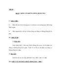 Tiết 56 : Bài 43 : ĐỘNG CƠ KHÔNG ĐỒNG BỘ BA PHA