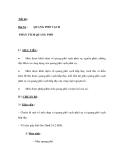 Tiết 68 : Bài 54 : QUANG PHỔ VẠCH  PHÂN TÍCH QUANG PHỔ