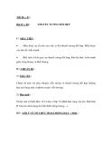 GIÁO ÁN MÔN LÝ: Bài 67 + 68. THUYẾT TƯƠNG ĐỐI HẸP