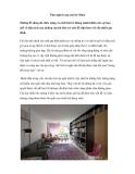 Tiện nghi trong căn hộ 38 m2
