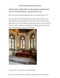Thiết kế nội thất theo phong cách Gothic
