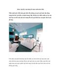 Décor nhà lấy cảm hứng từ màu xanh nước biển