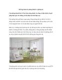 Kết hợp khéo léo phòng khách và phòng ăn