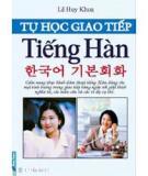 Ebook Tự học giao tiếp tiếng Hàn căn bản - Lê Huy Khoa