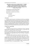 """Tóm tắt báo cáo nghiên cứu khoa học """" BIẾN ĐỘNG HÀM LƯỢNG AZADIRACHTIN VÀ NIMBIN TRONG LÁ NEEM (AZADIRACHTA INDICA A. JUSS) VÀ HIỆU QUẢ XUA ĐUỔI, GÂY CHẾT VÀ BIẾN DẠNG CỦA DỊCH CHIẾT NHÂN HẠT NEEM ĐỐI VỚI RẦY NÂU (Nilaparvata lugens Stal.) """""""