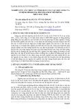 """Tóm tắt báo cáo nghiên cứu khoa học """" NGHIÊN CỨU CẤU TRÚC VÀ TÍNH CHẤT CỦA VẬT LIỆU LỎNG VÀ VÔ ĐỊNH HÌNH BẰNG PHƯƠNG PHÁP MÔ PHỎNG TRÊN MÁY TÍNH """""""