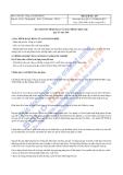 Công ty cổ phần Bibica - Thuyết minh báo cáo tài chính quý 4 năm 2009