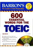 600 ESENTIAL WORDS FOR THE TOEIC - PART 1