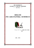 ENGLISH FOR AGRICULTURAL ECONOMICS - PART 1