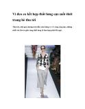 Ví đeo eo kết hợp thắt lưng cực mốt thời trang hè thu tới