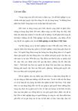 Báo cáo: Thất nghiệp và việc làm ở Việt Nam