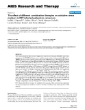 """Báo cáo y học: """"The effect of different combination therapies on oxidative stress markers in HIV infected patients in cameroon"""""""
