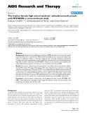 "Báo cáo y học: "" The Iranian female high school students' attitude towards people with HIV/AIDS: a cross-sectional study"""