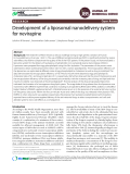 Development of a liposomal nanodelivery system for nevirapine