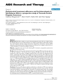 """Báo cáo y học: """"Antiretroviral treatment adherence and its determinants in Sub-Saharan Africa: a prospective study at Yaounde Central Hospital, Cameroon"""""""