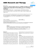 """Báo cáo y học: """"Treatment of hypertriglyceridemia and HIV: fenofibrate-induced changes in the expression of chemokine genes in circulating leukocytes"""""""
