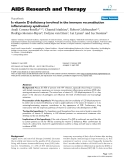 """Báo cáo y học: """"Is vitamin D deficiency involved in the immune reconstitution inflammatory syndrome?"""""""