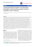 """Báo cáo y học: """"Cerebrospinal fluid neopterin: an informative biomarker of central nervous system immune activation in HIV-1 infection"""""""