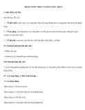Tiết 84: CÔNG THỨC LƯỢNG GIÁC (tiết 2)