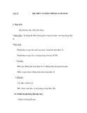 Tiết 23:  HỆ THỨC LƯỢNG TRONG TAM GIÁC