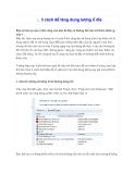3 cách để tăng dung lượng ổ đĩa