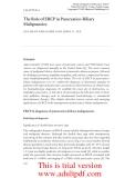 ADVANCED DIGESTIVE ENDOSCOPY: ERCP - PART 4