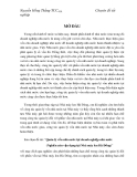 Quản lý vốn nhà nước tại doanh nghiệp nhà nước (Nghiên cứu vận dụng tại Nhà máy len Hà Đông)
