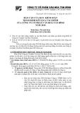 công ty cổ phần văn hóa Tân Bình - nghị quyết của hội đồng cổ đông thường niên năm 2011