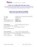 BẢN CÔNG BỐ THÔNG TIN CỦA CÔNG TY CỔ PHẦN BECAMEX  2008