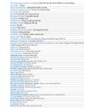 Tổng hợp các Câu English thường dùng NEW UPDATE 2012 _ p1