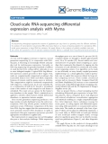 """Báo cáo y học: """" Cloud-scale RNA-sequencing differential expression analysis with Myrna"""""""