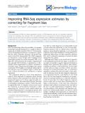 "Báo cáo y học: ""Improving RNA-Seq expression estimates by correcting for fragment bias"""