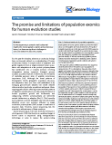 """Báo cáo y học: """"The promise and limitations of population exomics for human evolution studies"""""""