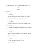 GIÁO ÁN: BÀI 1.GIÁ TRỊ LƯỢNG GIÁC CỦA MỘT GÓC BẤT KỲ ( Từ 00 đến 1800)