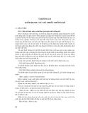 Phân tích thống kê trong thủy văn ( ĐH Quốc Gia HN ) - Chương 3