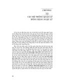 Kỹ thuật và quản lý hệ thống nguồn nước ( Đại học Quốc gia Hà Nội ) - Chương 12
