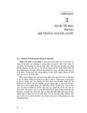 Kỹ thuật và quản lý hệ thống nguồn nước ( Đại học Quốc gia Hà Nội ) - Chương 2