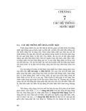 Kỹ thuật và quản lý hệ thống nguồn nước ( Đại học Quốc gia Hà Nội ) - Chương 7