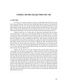 Quá trình Phát tán vật chất trong các cửa sông và vùng nước ven bờ ( ĐH khoa học tự nhiên ) - Chương 6