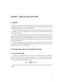 Các nguyên lý của dòng chảy chất lỏng và sóng mặt trong sông, cửa sông, biển và đại dương - Chương 5