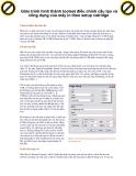Giáo trình hình thành toolset điều chỉnh cấu tạo và công dụng của máy in theo setup catridge p1