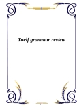toelf grammar review