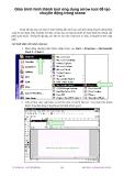 Giáo trình hình thành tool ứng dụng arrow tool để tạo chuyển động trong scene p1