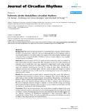 """Báo cáo y học: """"Ischemic stroke destabilizes circadian rhythms"""""""