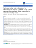 """Báo cáo y học: """"Rationale, design and methodology for Intraventricular Pressure Gradients Study: a novel approach f"""""""