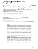 """Báo cáo y học: """"urgical correction of unsuccessful derotational humeral osteotomy in obstetric brachial plexus palsy: Evidence of the significance of scapular deformity in the pathophysiology of the medial rotation contracture"""""""
