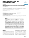 """Báo cáo y học: """" Hyperglycemia alters enzyme activity and cell number in spinal sensory ganglia"""""""